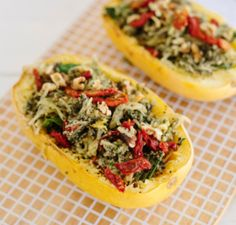 Roasted spaghetti squash makes the best pasta alternative! Try it with our super green kale and broccoli pesto - packed with extra greens to give your body a nice big boost of nutrients: https://www.collagevideo.com/blogs/healthy-tips-recipes-by-gilad/spaghetti-squash #collagevideo #collagevideofitness #fit #fitness #workout #workoutdvds #success #goals #motivation #fitnessdvds #workout #gilad #fitnesstip #bodiesinmotion @giladbodiesinmotion