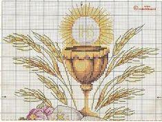 Mis puntadas preferidas: Sagrada Eucaristía en punto de cruz