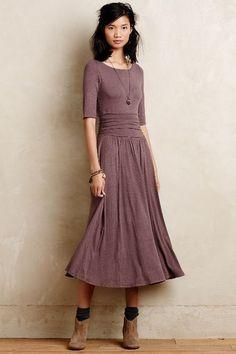 Jersey Midi Dress - anthropologie.com