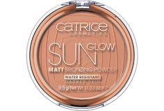 CATRICE Sun Glow Matt Bronzing Powder 020 Deep Bronze