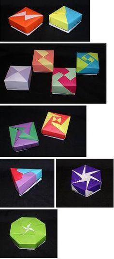 MODULAR ORIGAMI BOX
