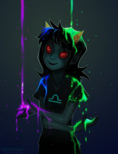 And to think, to people who don't read Homestuck this must look so pretty... It's just so creepy *shudders*