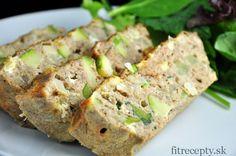 Chutná a zdravá fitness pečená tuniaková omeleta vhodná na raňajky, obed či večeru.