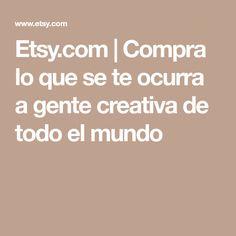 Etsy.com | Compra lo que se te ocurra a gente creativa de todo el mundo