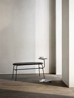 From danish design house Menu - The Afteroom Bench is an evolution of the celebrated Afteroom Chair, . Furniture Decor, Furniture Design, Furniture Market, Furniture Movers, Furniture Outlet, Discount Furniture, Showroom Design, Banquettes, Danish Design