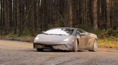 Lamborghini Gallardo getting muddy on a rally stage - in our top videos of the week. Click on the pic to watch the vid!