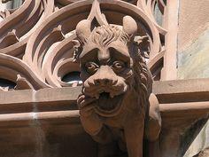 Dentist needed!Gargoyle in Strasbourg France