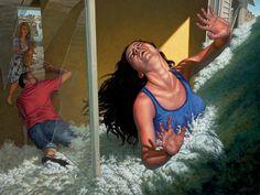 """F. Scott Hess """"Shattered"""" @ Koplin Del Rio Gallery, Culver City"""