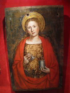 Mary Magdalene pendant FREE SHIPPING by Elysiumpendants on Etsy