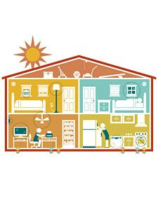 Warm Weather Energy Tips  Save hundreds of dollars, stay cool, and shrink your carbon footprint with summer energy savers.