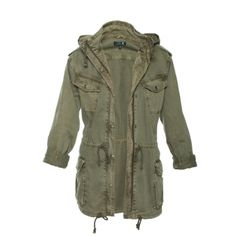 Talula Army Jacket. WEARING THIS ALL WINTER.