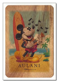 Aulani... anybody going? Would love to get these postcards!