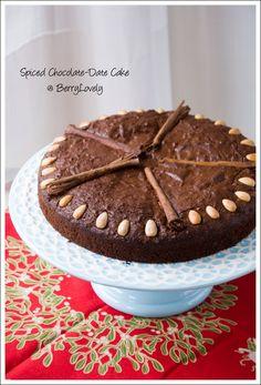 Spiced Chocolate-Date Cake