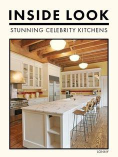 Stunning Celebrity Kitchens.