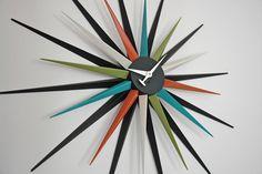 Mid-Century Modern Freak | Starburst Clocks - Via