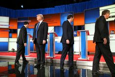 In Republican Debate Ted Cruz and Marco Rubio Wage Urgent Attacks on Donald Trump