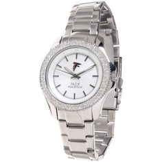 Women's Atlanta Falcons Jack Mason Brand Glitz Bracelet Watch, Your Price: $150.00