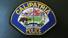 Calipatria Police Patch, Imperial County, California (Vintage 2007 - 8th Issue)