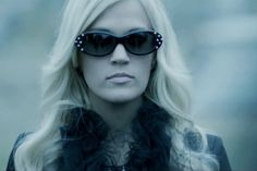 Carrie Underwood releases her new music video for 'Two Black Cadillacs'.
