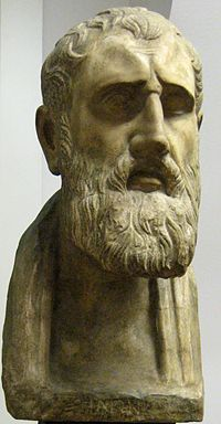 Wikipedia.org/*PHILOSOPHER Zeno of Citium-- (334-262 BC) was a Greek thinker from Citium , Cyprus, and probably of Phoenician descent. Zeno was the founder of the Stoic school of philosophy, which he taught in Athens from about 300 BC. Based on the moral ideas of the Cynics, Stoicism laid great emphasis on goodness and peace of mind gained from living a life of Virtue in accordance with Nature. It proved very successful, and flourished