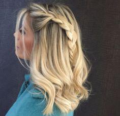Inspiração de penteado. Foto do Instagram da terezinhavigolo