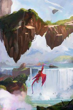 ArtStation - Dance of Dragons , Mateusz Michalski
