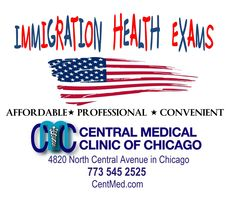 Immigration Medical Exams Green Card USCIS Chicago - www.CentMed.com
