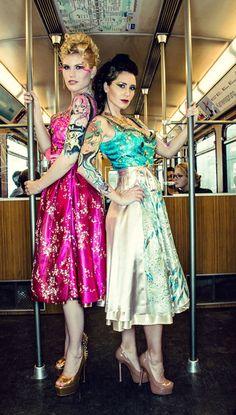 Herzi Dirndl Couture 2013 #Tracht #modern #Designerdirndl