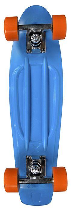 Urban Vintage - Monopatín, color azul, tamaño 22,5' pulgadas: Amazon.es: Deportes y aire libre