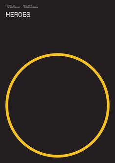 Heroes (2006–2010) ~ Minimal TV Series Poster by Albert Exergian