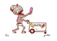 Sugar skull art - Jose Pulido