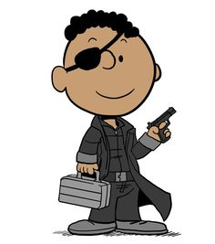 Franklin as director of S.H.I.E.L.D By Brad Campbell: Peanuts