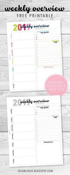 Weekly Planner Template Printable Weekly Planner Printable, Weekly