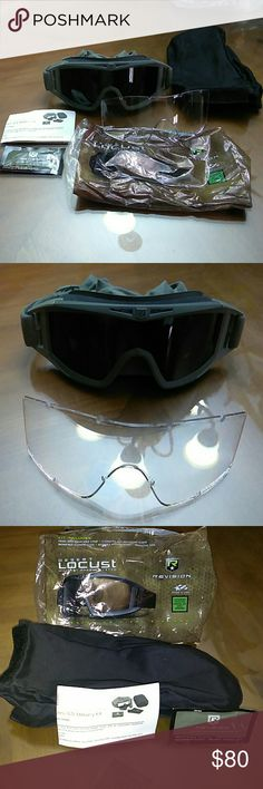 00f899965ab2 Revision Military 4-0307-0235 Wolfspider Goggle Deluxe Kit ...