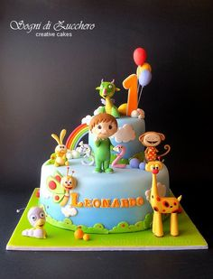sogni di zucchero: Baby TV Cake