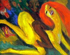 Emil Nolde, Raving Woman (1919). Louisiana Museum of Modern Art - Humlebæk (DK)