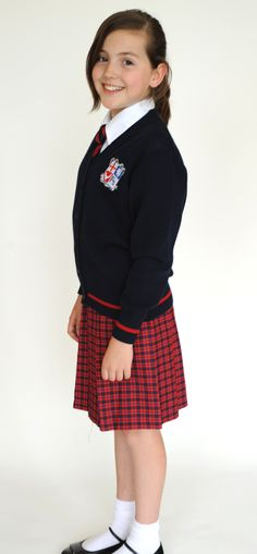 The skirt is worn by prep and senior girls as part of the school uniform