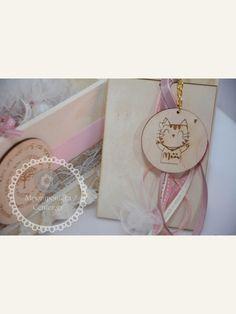 03b011baa7b Κέρασμα για νεογέννητο κορίτσι γλυκιά γατούλα mew με φιογκάκι