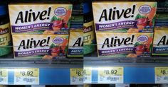 New High Dollar Printable Coupon for Alive Multivitamins!