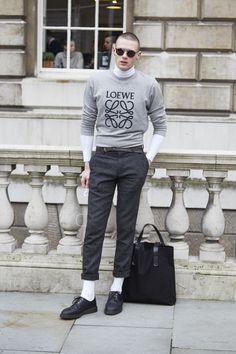 London Fashion Week Street Style   Women's & Men's Street Style at Coggles #LFW #LFW15