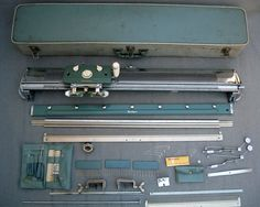 VINTAGE BROTHER MANUAL KNITTING MACHINE IN CASE- STANDARD GAUGE