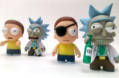 """Kidrobot teases more """"Rick and Morty"""" mini figures!"""