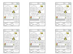 Cuaderno de descomposición números hasta el 100