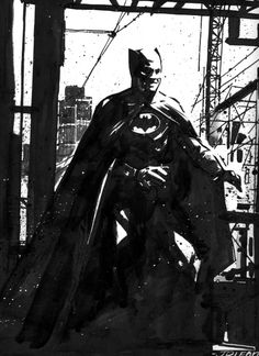 Batman commission by John Paul Leon