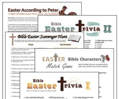 Free Religious Easter Crafts For Kids