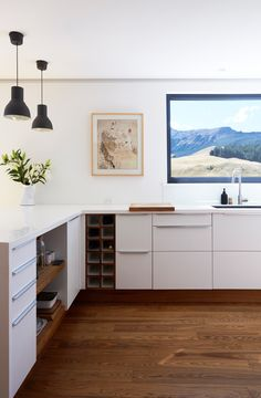Kitchen Views, Kitchen Units, Kitchen Cabinetry, Passive House Design, Clad Home, Interior Fit Out, Scandinavian Kitchen, Scandinavian Style, Home Fashion