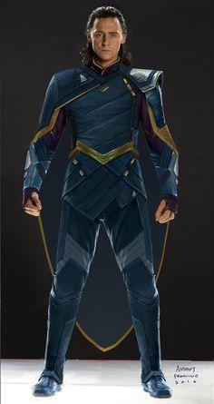 #Loki concept art for #ThorRagnarok by Anthony Francisco (AnthonyFranciscoArt on Facebook). Via Torrilla.