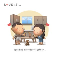 Love is for the Rest of Our Lives - HJ-Story Love Cartoon Couple, Cute Love Cartoons, Cute Cartoon, Love Quotes For Boyfriend, Boyfriend Quotes, Cute Love Stories, Love Story, Hj Story, Famous Love Quotes