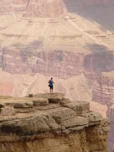 Finding strength and inspiration in the Grand Canyon with adventure novelist Jeanne Meeks.