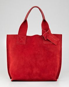 Shopper Small Tote Bag, Chili by Pedro Garcia at Neiman Marcus.  Something cheerful for those long winter days....